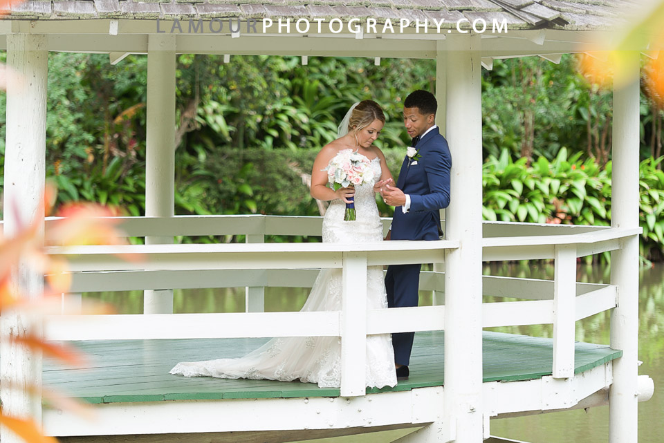 hawaii garden wedding venue Haiku