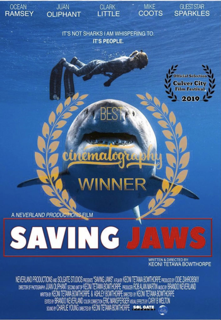 Eric Mansperger Color Corrector Saving Jaws Film Best Cinematography Winner